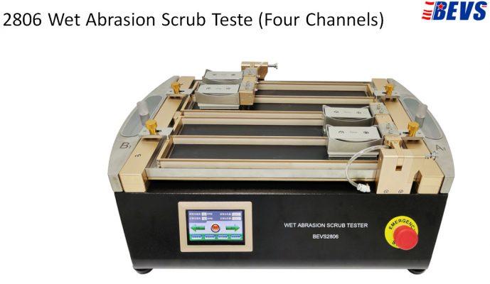 Model mới: Máy kiểm tra độ chà rửa màng sơn BEVS 2806